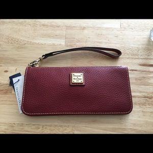 NWT Dooney & Bourke Foldover Wallet/Wristlet